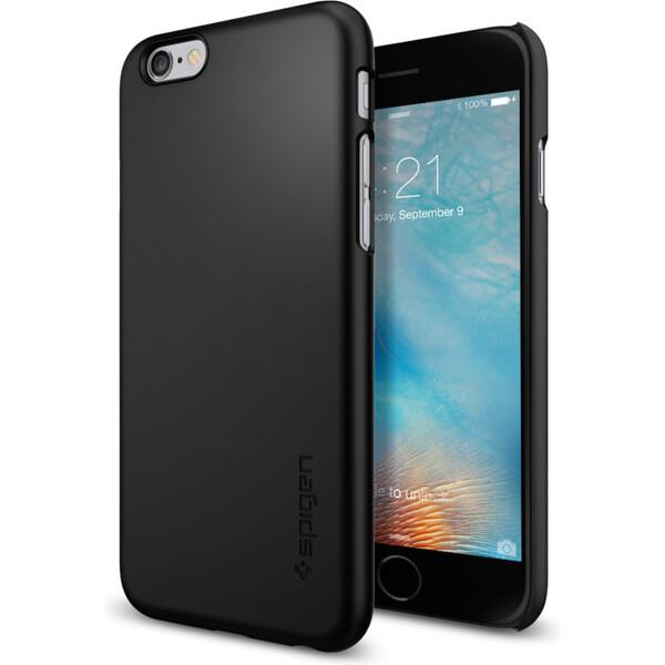 Pouzdro Spigen Thin Fit iPhone 6/6s černé