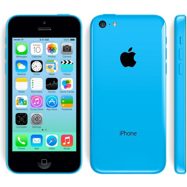 Apple iPhone 5C, 16GB Modrá