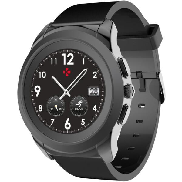 MyKronoz ZeTime Elite Metal chytré hodinky 39 mm černé d6b8d9d89a