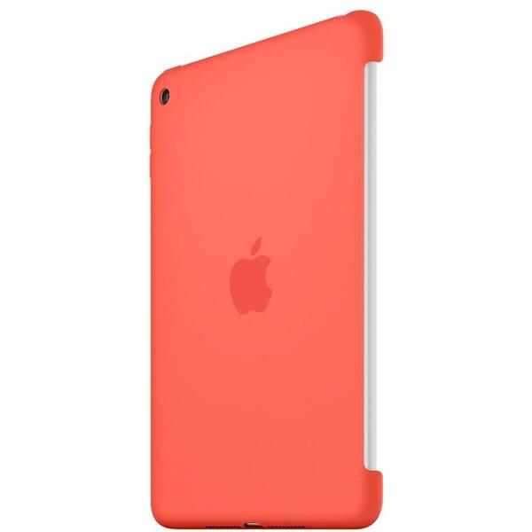 Apple iPad mini 4 Silicone Case zadní kryt meruňkový