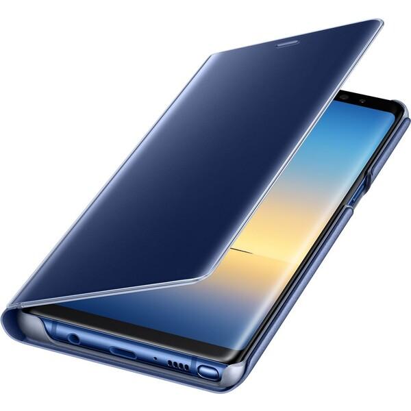 Samsung EF-ZN950C flip clear view Modrá