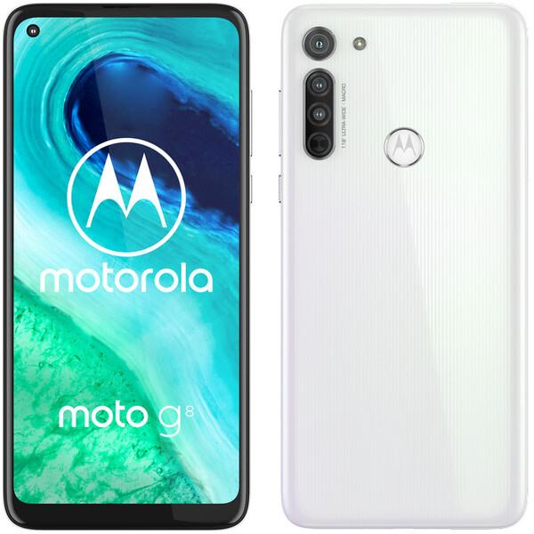 Motorola Moto G8 4GB+64GB Dual SIM Pearl White