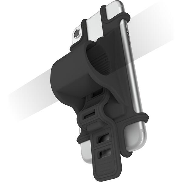 Univerzální držák CELLY EASY BIKE pro telefony a navigace k upevnění na řídítka EASYBIKEGN Černá