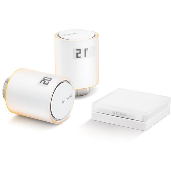 Netatmo starter pack - inteligentní radiátorové ventily
