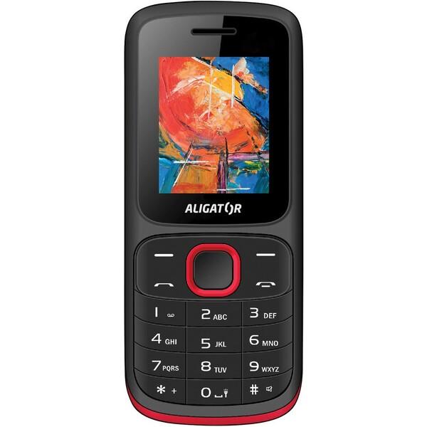 Aligator D210 černá/červená