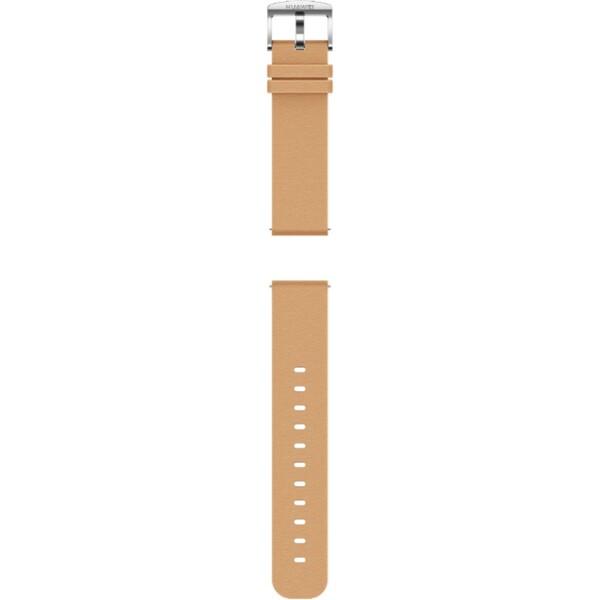 Huawei kožený 20mm řemínek Watch GT/GT2 khaki
