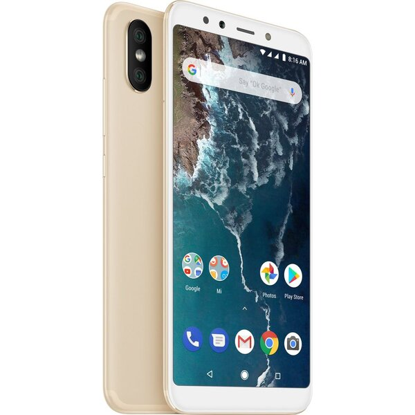 Xiaomi Mi A2 Global 6GB/128GB Zlatá