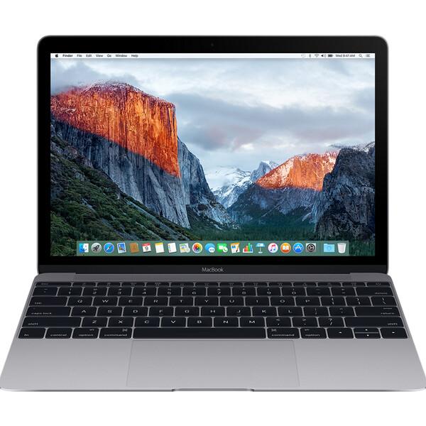 """Apple Macbook 2017 , 12"""" 512GB Vesmírně šedá"""