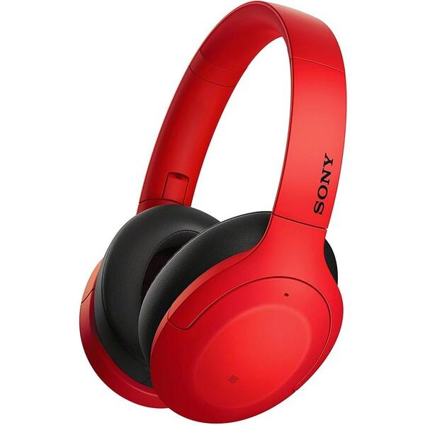 Sony WHH910N sluchátka červená