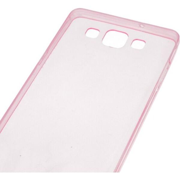 Smarty ultratenké TPU pouzdro 0,3mm Apple iPhone 5/5S/5SE růžové