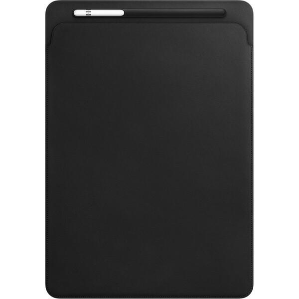 """Apple iPad Pro 12,9"""" Leather Sleeve kožené pouzdro černé"""