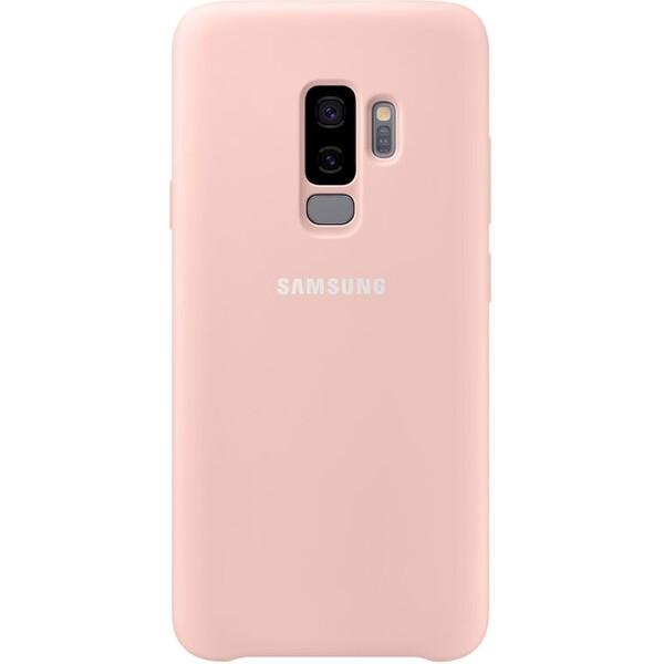 Samsung silikonový zadní kryt Samsung Galaxy S9+ růžový EF-PG965TPEGWW Růžová