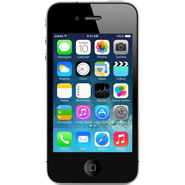 Apple iPhone 4S, 8GB Černá