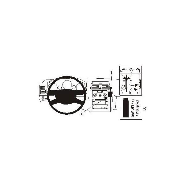 Brodit ProClip montážní konzole pro VW Touran 03-06
