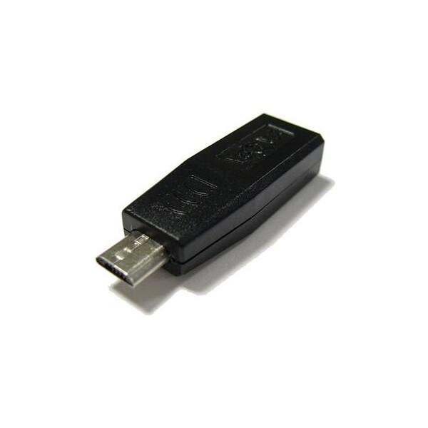 Adaptér Mini USB -> Micro USB pro nabíječky a datové kabely