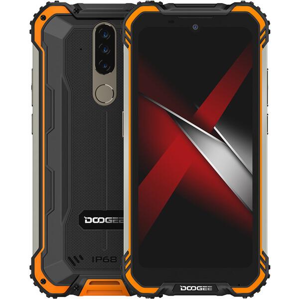 Doogee S58 PRO 6GB+64GB Dual SIM oranžový