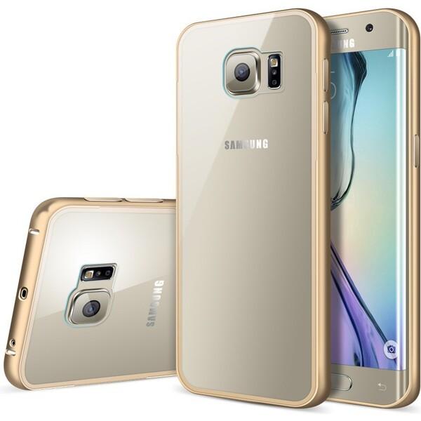 Smarty hliníkové pouzdro Samsung Galaxy S6 zlaté
