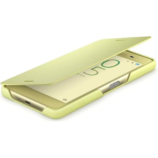 Pouzdro Sony SCR60 Lime zlaté Zlatá