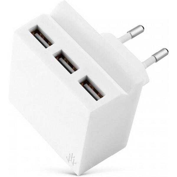 Nabíječka USBEPower USBE_MINI_HIDE - neoriginální Bílá