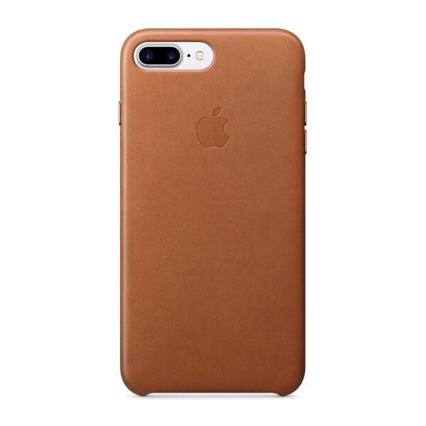 Pouzdro APPLE iPhone 7 Plus Leather Case Sedlově hnědá