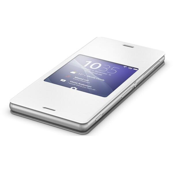 Sony SCR24 Smart Cover pouzdro Xperia Z3 bílé