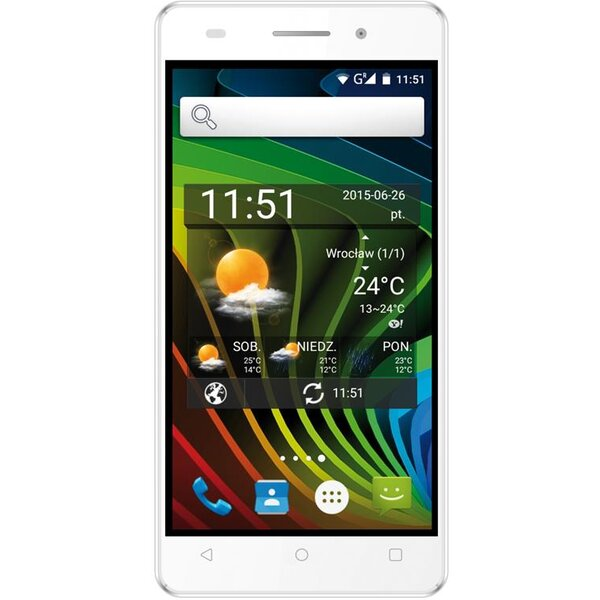 myPhone L-LINE Dual SIM Bílá