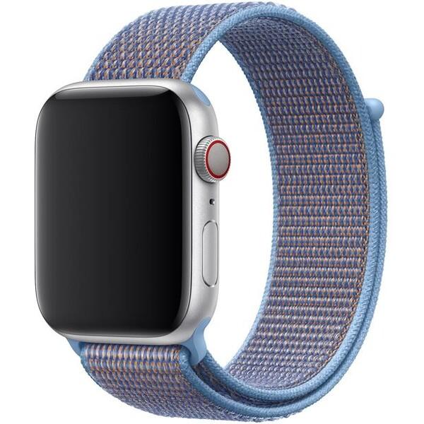 Apple Watch provlékací sportovní řemínek 44/42mm popelavě modrý