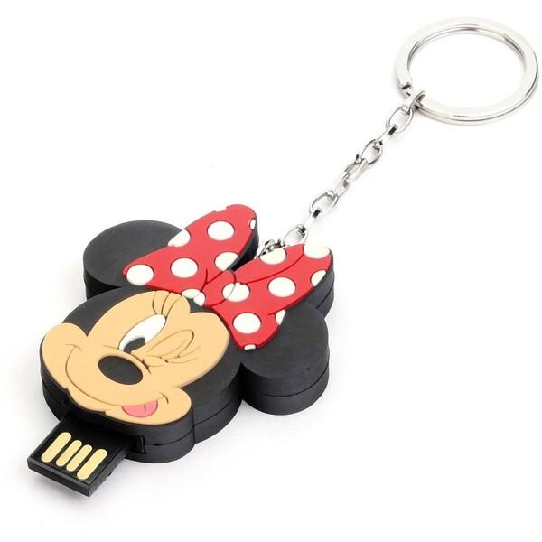 Disney Pendrive Minnie Head Flash disk 16GB