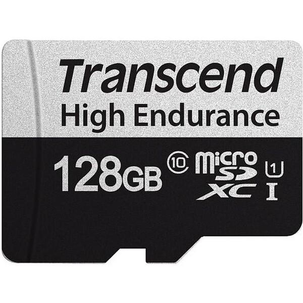 Transcend 128GB microSDXC 350V High Endurance paměťová karta