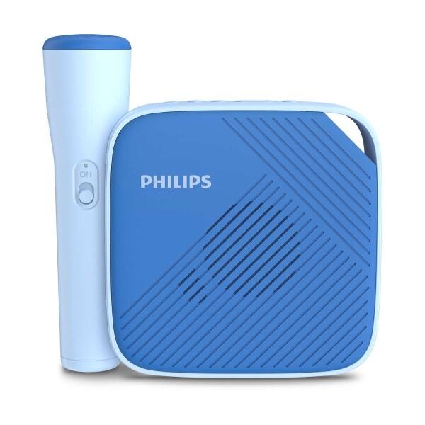 Philips TAS4405N/00 bezdrátový reproduktor s mikrofonem modrý