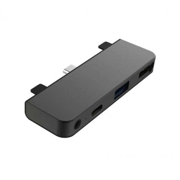 HyperDrive 4 v 1 USB-C Hub iPad Pro 2018 vesmírně šedý