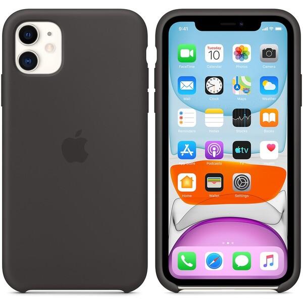 Apple silikonový kryt iPhone 11 černý