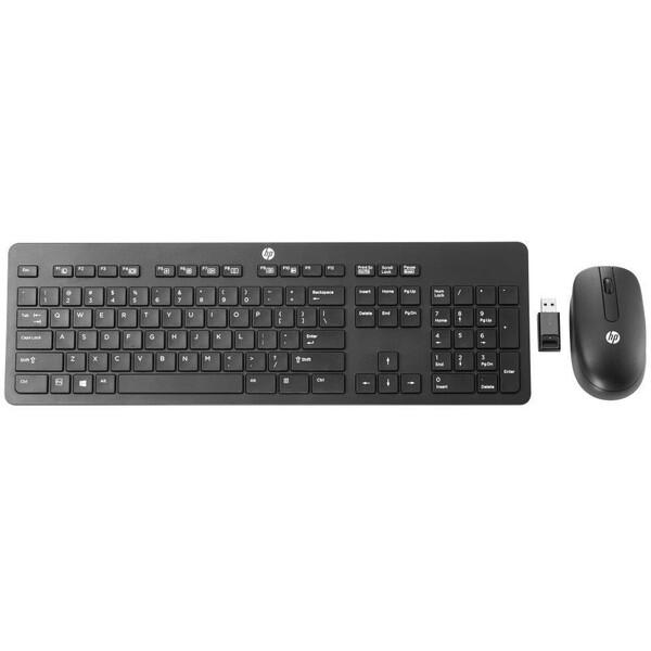 HP Wireless Business Slim klávesnice černá