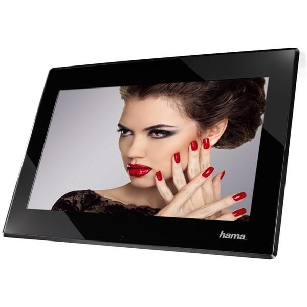 Hama digitální fotorámeček Premium černý Černá