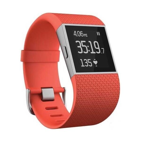 Fitbit Surge fitness hodinky L oranžové