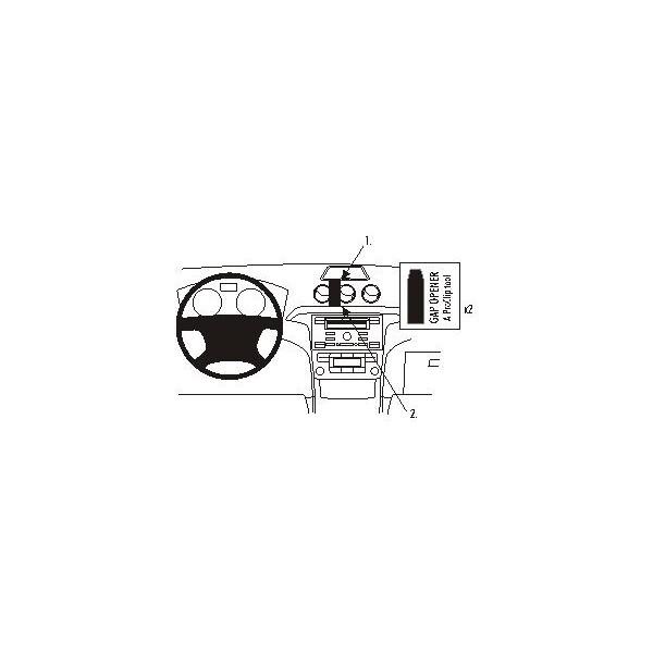 Brodit ProClip montážní konzole pro Ford Galaxy 07-/Ford S-Max 06-07
