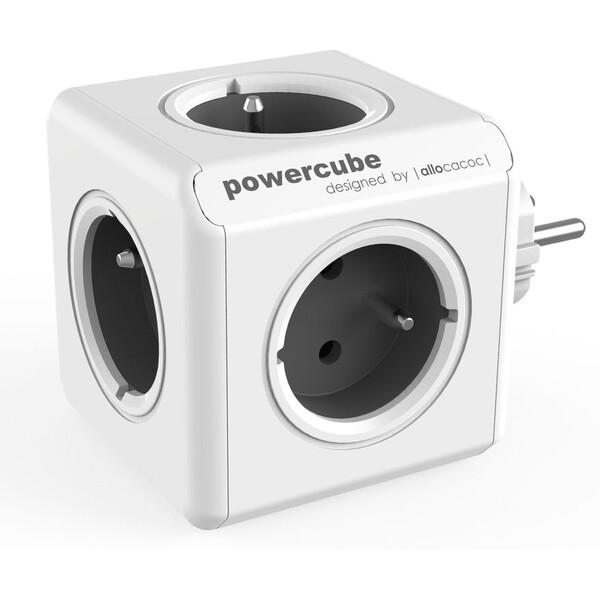 PowerCube Original zásuvka šedá