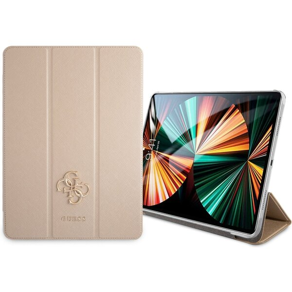 "Guess Saffiano Folio pouzdro iPad Pro 11"" zlaté"