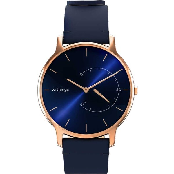 Withings Move Timeless Chic modré/růžovězlaté