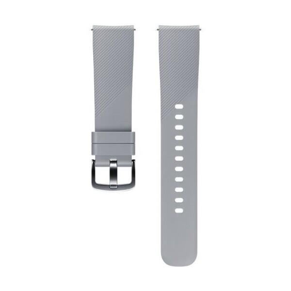 Samsung silikonový řemínek Samsung Gear Sport šedý ET-YSN60MJEGWW Šedá