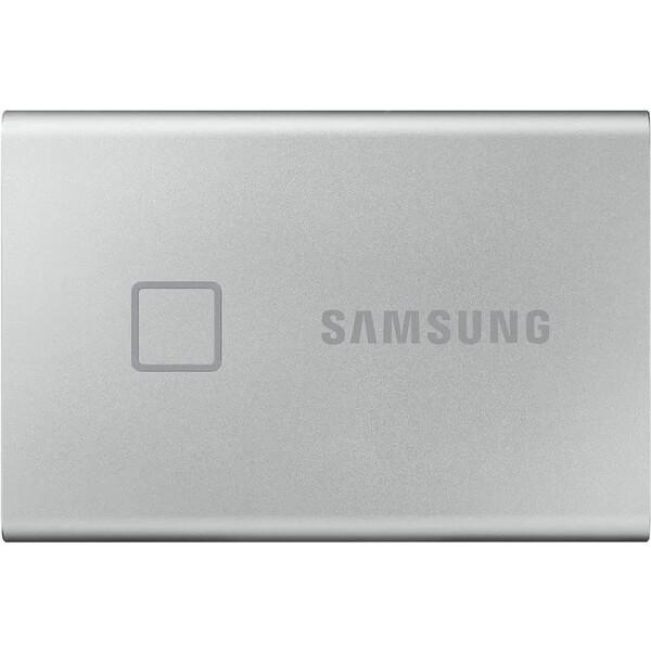 Samsung Portable SSD T7 Touch 500GB stříbrný