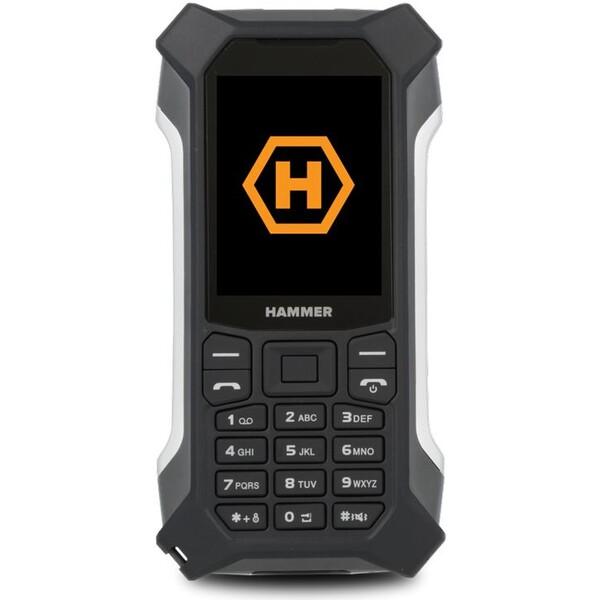 myPhone Hammer Patriot Stříbrná