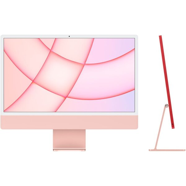 "Apple iMac 24"" (2021) / 8GPU / 256GB růžový"