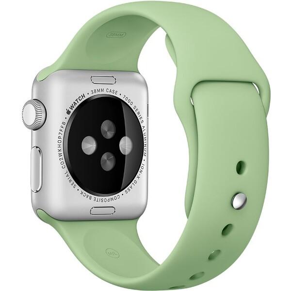 Apple Watch sportovní řemínek 38mm mátově zelený