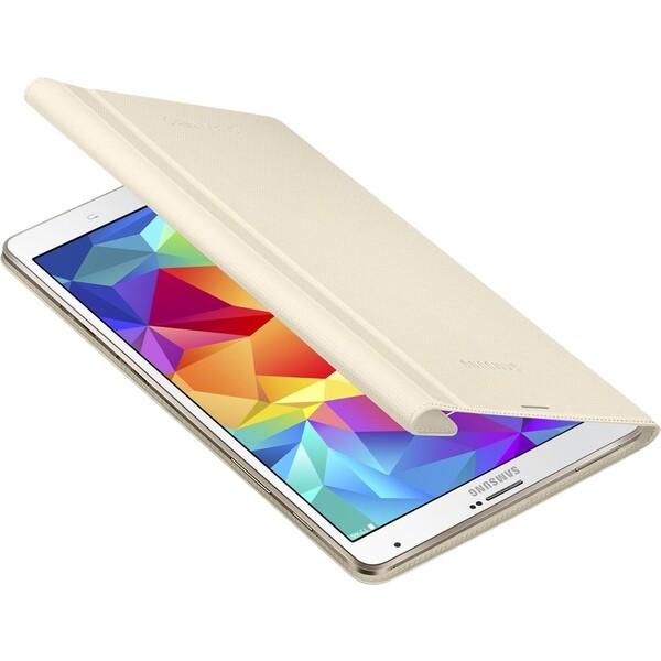 Samsung EF-BT700BU polohovací pouzdro Galaxy Tab S 8.4 béžové