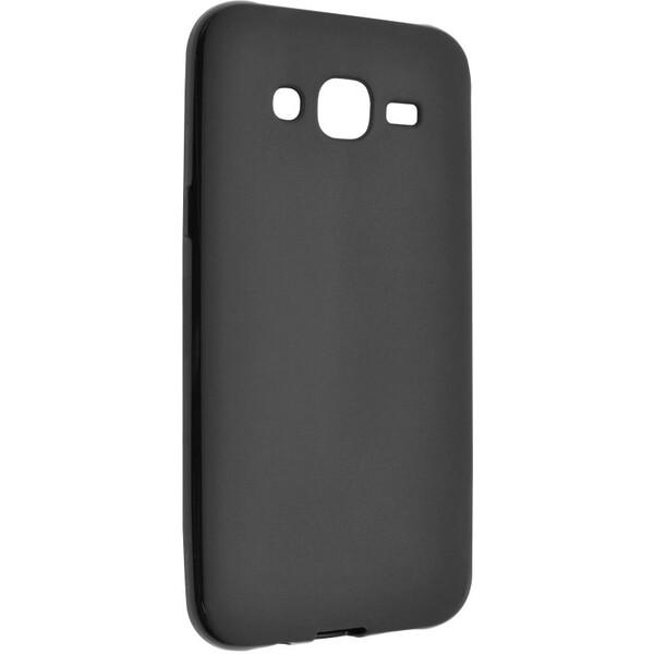 Pouzdro FIXED TPU gelové Samsung Galaxy J5 černé Černá