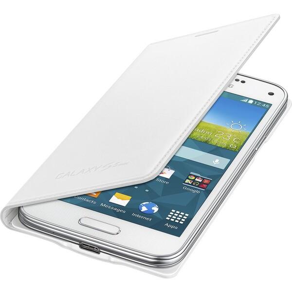 Samsung EF-FG800BW flip pouzdro Galaxy S5 mini bílé