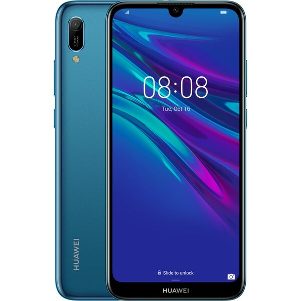 Huawei Y6 2019 Dual SIM Safírová