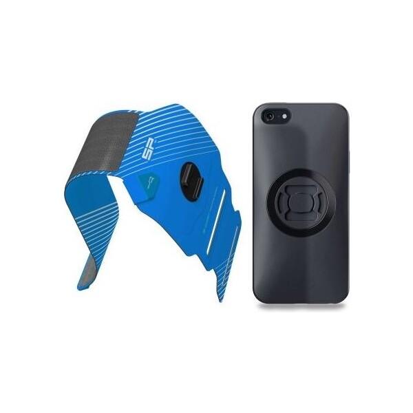 Fitness držák telefonu SP FITNESS BUNDLE Samsung Galaxy S7 Edge Černá