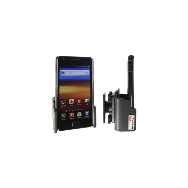 Brodit držák do auta Samsung Galaxy SII SIII a S4 (nast. šířka pro zařízení v obalu) bez nabíjení